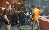 中国诈骗团伙在曼谷被捕