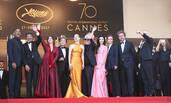 戛纳电影节70周年庆典红毯 范冰冰舒淇优雅现身