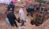 景德镇村民打地基 发现8000多斤千年古币