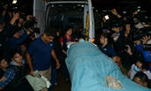刘德华泰国拍广告坠马受伤 躺担架回港就医