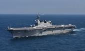 """日""""准航母""""首次与美舰共同巡航南海"""