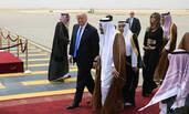 特朗普抵达沙特