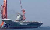 001A航母首冒黑烟疑似主机试车 国产动力挑起大梁