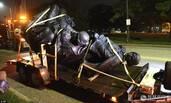 为防暴乱 美国城市连夜拆除内战南方将领雕像