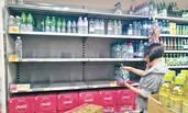 10万人饮水带异味 超市瓶装水遭抢购