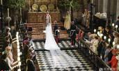 哈里王子婚礼上一个特殊的空座位
