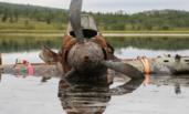 俄罗斯打捞出70多年前攻击机