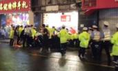 上海:商店招牌脱落砸路人 3死6伤