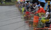四万斤鱼:引百人垂钓上演抢鱼大战