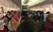 飞机起飞忘机舱加压 30人耳鼻流血