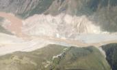 直击西藏金沙江山体滑坡现场