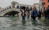 威尼斯水位上涨 四分之三被水淹没
