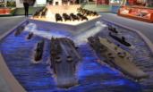 庆祝改革开放40周年大型展览现场