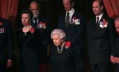 英国王室和首相纪念一战结束100周年