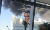 北京:中关村大楼突发火灾