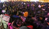 陕西:凌晨4点排队参加艺考