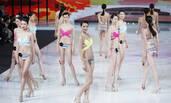 北京超模大赛现场