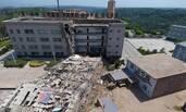 山西一煤矿办公楼坍塌 三天前出现墙体断裂