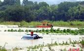 江西3名官员救灾时被洪水冲走