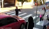 巴西男子持枪劫持学校,被孩子母亲击毙