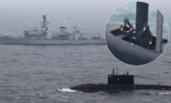 """冷战模式再现:英俄舰艇相遇先""""互拍"""""""