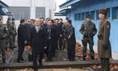 """朝鲜""""女团""""团长参加朝韩会谈"""