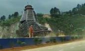 贵州:大风吹倒23层在建鼓楼