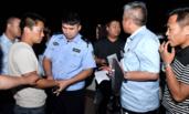 安徽:50名警察10辆警车抓7名老赖
