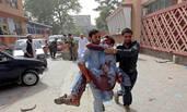 阿富汗一省长办公室爆炸 致63死伤