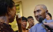 94岁抗战老兵寻亲46年找到亲妹妹