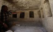 约旦现2000年前古罗马时期墓穴