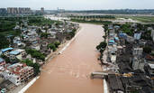 四川乐山特大暴雨 致7县51个乡镇受灾