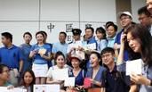 """香港各区发起""""全民撑警日""""活动"""