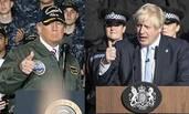 """英首相演讲被指""""抄袭""""特朗普"""