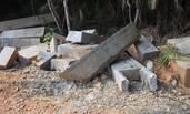 曾国藩墓遗址遭不可复原性破坏