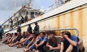 中国渔民非法捕捞 让印尼抓了