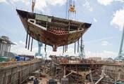 中国最强航母钢板 仅4国能造
