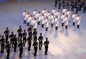 解放军驻港部队仪仗队枪操表演