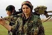 記者揭秘庫爾德女兵訓練營