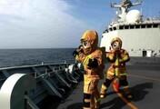 舱室起火怎么办?第36批护航编队战舰演练损害管制