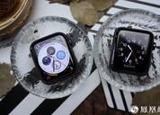 Apple Watch三四代对比图赏:你看这表盘它又大又圆