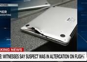 美国佛州机场枪击案 MacBook Pro救主人一命
