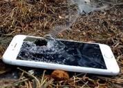 画面太刺激:土豪用狙击枪射击iPhone7