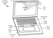 谷歌笔记本新专利:平板模式下磁性铰链可覆盖键盘区域