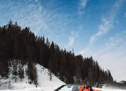 日产370ZKI雪橇汽车酷炫来袭 雪地飙车爽到起飞!