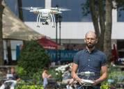 大疆精灵3无人机图赏:专业航拍 支持4K视频