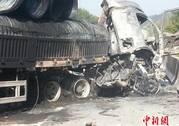 粤赣高速河源和平路段6车相撞致12死3伤