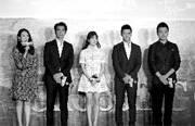 导演吴宇森率领章子怡、金城武、宋慧乔、黄晓明、佟大为等片中演员在北京亮相为电影造势。