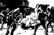 《南京1937》近日与读者见面,以版画的形式将南京大屠杀幸存者夏淑琴老人的真实故事展现在全世界面前。