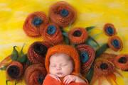 摄影师城会玩 将熟睡婴儿融入世界名画